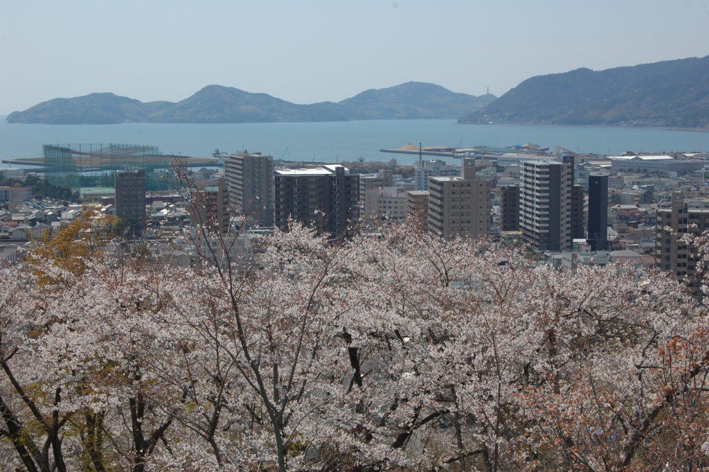 下松駅周辺の風景